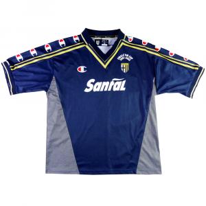 2001-02 Parma Maglia 'Finale TIM Cup' Autografata  XL  (Top)