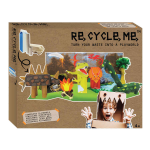 Playworld Dinosauri XL Set Gioco Ecologico per Bambina Re-Cycle-Me