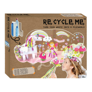 Playworld Unicorni XL Set Gioco Ecologico per Bambina Re-Cycle-Me