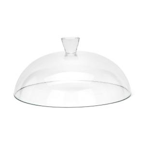 Campana Cupola Cloche Coprivivande in Vetro cm.15h diam.31