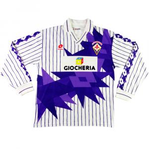 1991-92 Fiorentina MAGLIA Away L