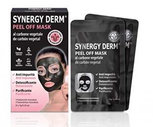 Synergy Derm Peel Off Mask maschera al carbone vegetale 4 Trattamenti