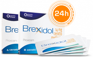Brexidol cerotto medicato Piroxicam 14mg 8 cerotti