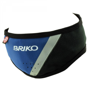 BRIKO Sports Elastic Band For Winter Wind Stopper Unisex Blue Black