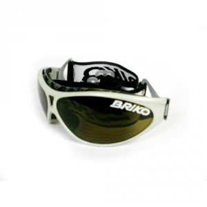BRIKO VINTAGE Sports Sunglasses Unisex Dart Racing Beige