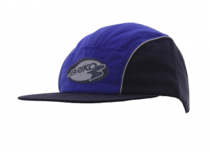 BRIKO Unisex Blue Hat With A Black Visor