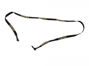 BRIKO Unisex Clamp Black Glasses Yellow Logos