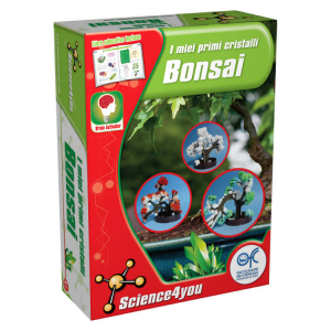 I miei primi cristalli bonsai Science4you