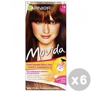 GARNIER Set 6 Hair Dye Ammonia Free Movida Hair Products 15 Dark Blond