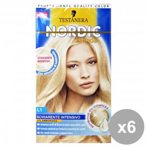 Set 6 Hair Intensive Lightening L1 Ammonia Free Hair Products