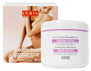 PUPA Reshaping Salt Scrub Active Oxygen With Pinks Salt From The Himalayas 350G