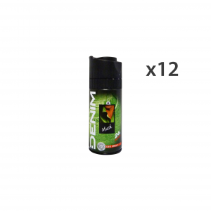 DENIM Set 12 Deo Spray Musk For Man Body Care 24H 150Ml