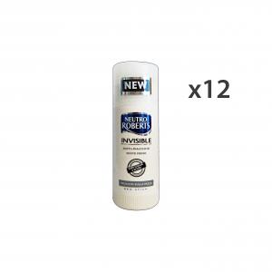 NEUTRO ROBERTS Set 12 Deo Stick Invisible White Fresh Anti-Stain Body Care 40Ml