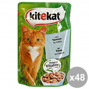 KITEKAT Set 48 Cat'S Food With Tuna In Sauce Cat Food 100G