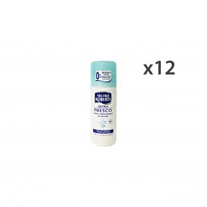 NEUTRO ROBERTS Set 12 Deo Stick Blue Fresh 24H 0% Stains Fabrics Unisex 40Ml