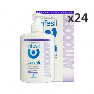 INFASIL Set 12 Intimate Soap Anti-Odor Body Care And Soap 200Ml