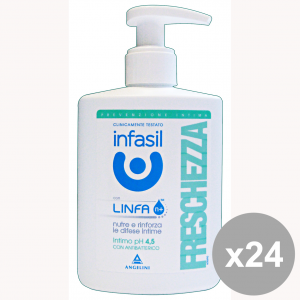 INFASIL Set 12 Intimate Soap Freshness Body Care And Soap 200Ml