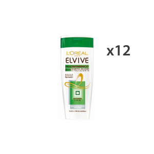 L'OREAL Set 12 Shampoo+Conditioner Vitalizing Elvive All Types Of Hair 250Ml