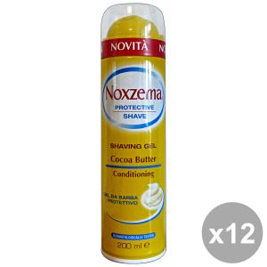 NOXZEMA Set 12 Shaving Gel Protective Cocoa Butter Conditioning 400Ml