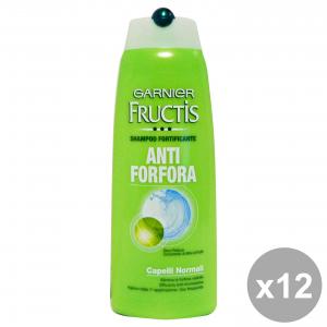 GARNIER Set 12 Shampoo Strengthen Anti-Dandruff Fructis Normal Hair 250Ml