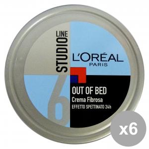 Set 6 Modeling Cream For Hair Disheveled Effet Studio Line