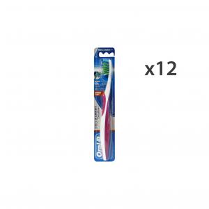 ORAL-B Set 12 Toothbrush Medium Pro-Expert Crossaction Oral Hygiene