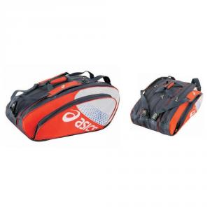 ASICS Tennis Bag Bicolour Strap 75X35X40 Cm Cup Red White Blue