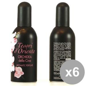 TESORI D'ORIENTE Set 6 Eau De Toilette Chinese Orchyd Aromatic Perfume 100Ml