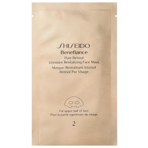SHISEIDO Face Mask Benefiance Pure Retinol Intensive Revitalizing 4 Masks