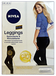 NIVEA Body Shaping Leggings With Q10 Remodels And Hardens Body Care S/M