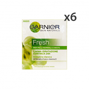 GARNIER Set 6 Moisturizing Dry Cream Fresh Normal And Mixed Cream Face Care 50Ml