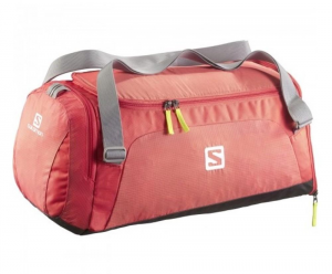 SALOMON Sport Bag Waterproof With Handles Unisex Red One Size