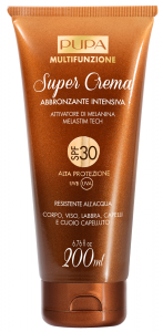 PUPA Super Cream Intensive Tanning Body/Face/Lips/Hair Waterproof Spf30 250Ml