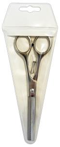 ACCA KAPPA Hair Scissors Thin Out 6' 63406 Haircut Haircare Grey Metal