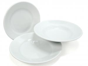 SATURNIA Set 12 Dishes Tivoli Porcelain Table Top Cm 23.5 Table Furniture