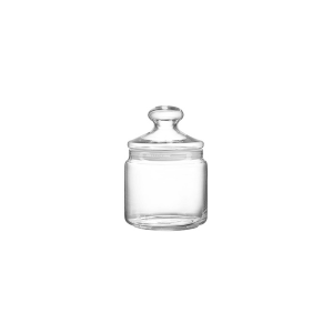 ARC Set 6 Transparent Club Glass Jars Lt 0.28 Kitchen Containers