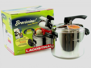 LAGOSTINA High pressure cooking pot cuconnatur lt 7