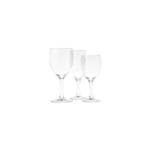 ARC Set of 12 Elegance Glass Goblets Acqua Cl 24.5