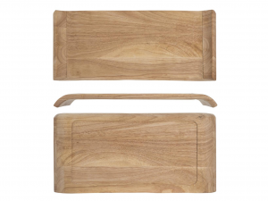 ARC Wooden tray Mekkano 39.5x19 cm Wood Kitchen items Made in Italy