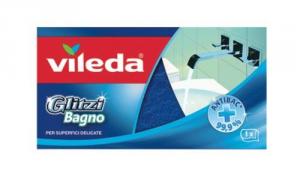 VILEDA Set 24 Glitzi Abrasive Bath Sponge