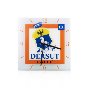 DERSUT Wall Clock Decorations home and kitchen Made in Italy