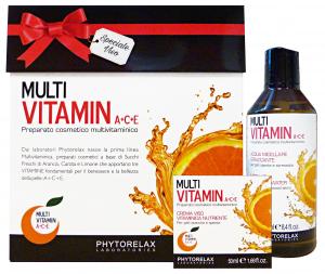 PHYTORELAX Gift Box Multivitamin Micellar Water 250Ml + A+C+E Day Cream 50Ml