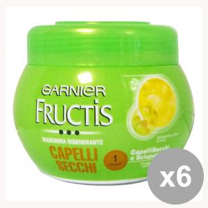 GARNIER Set 6 Fructis Dry Jar Mask