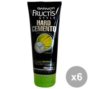 FRUCTIS Set 6 Gel Tube HARD CEMENTO 5 EXTREME 200 Ml