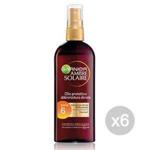 GARNIER Set 6 Ambre Solaire Oil Ip6 Tanning Spray