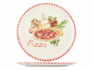 HOME Pizza Plate Ceramic Cm34