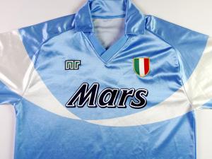 1990-91 Napoli Maglia Home (Top)
