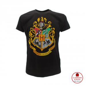 HARRY POTTER maglietta stemma Hogwarts