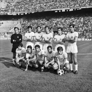 La formazione della AS Roma, 1969