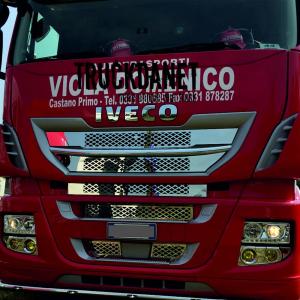 IVECO Mascherina interna disegno 'NIDO D'APE' con sensore